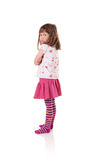 Sulky little girl Stock Photo