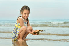 Cute little girl Royalty Free Stock Images