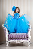Cute little girl, a child in a dress Royalty Free Stock Photography