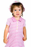 Cute little girl close-up Royalty Free Stock Images