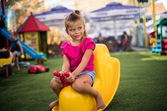 Cute little girl. royalty free stock photo