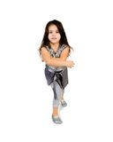Cute little girl dance Royalty Free Stock Photo