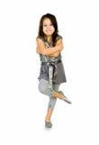 Cute little girl dance Royalty Free Stock Photo