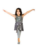 Cute little girl dance Stock Photography