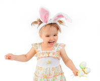 Easter bunny ears royalty free stock photo