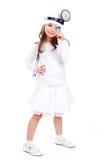 Cheerful doctor stock photos