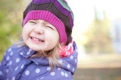 A cute little girl  having fun Stock Photo