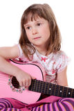 Little guitarist Stock Photography