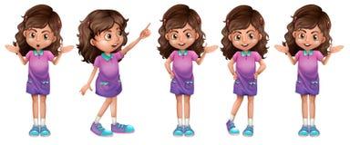 A cute little girl Stock Photos