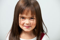 Cute little girl indoors Stock Photo