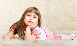 Cute Little Girl Stock Photos