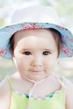 Cute little girl with a little cap. Adorable little girl with a little cap Stock Photography