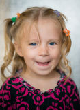Cute little girl. Stock Images