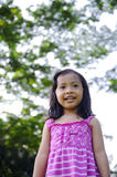 Cute Little Girl On The Park Stock Photography