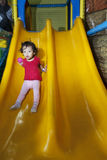 Cute little girl on playground Stock Images
