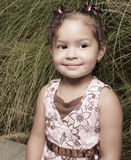 Cute little girl portrait Royalty Free Stock Photography