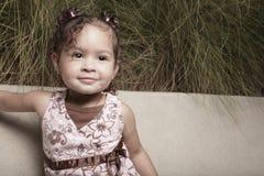Cute little girl portrait Stock Photography