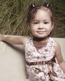 Cute little girl portrait Stock Image