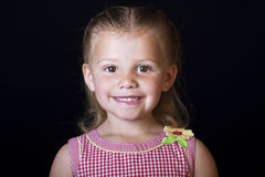 Cute little girl portrait Stock Photo