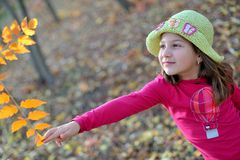 Cute little girl portrait Royalty Free Stock Images