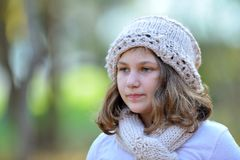 Cute little girl portrait Royalty Free Stock Photo