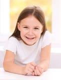 Cute little girl. Portrait of a cute little girl Royalty Free Stock Image