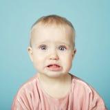 Cute little girl portrait Stock Photos