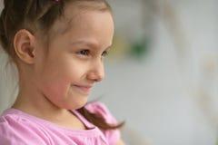 Cute little girl posing Royalty Free Stock Photos