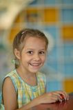 Cute little girl  posing Royalty Free Stock Images