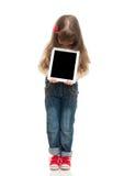 Cute little girl posing in studio Stock Image