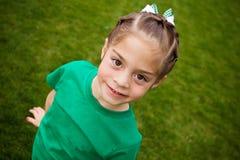 Cute little Girl (Selective focus) stock photo