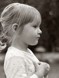 Cute little girl. Royalty Free Stock Photography