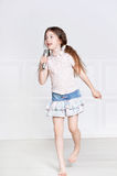 Cute Little Girl Singing Stock Image