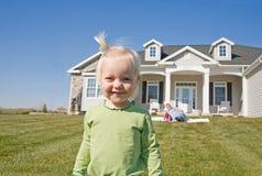 Cute Little Girl Smiling Stock Image