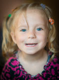 Cute little girl. Royalty Free Stock Photos