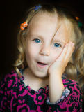 Cute little girl. Stock Photography