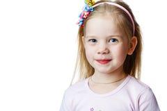 Cute little girl in studio Stock Photos