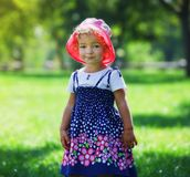 Cute little girl Royalty Free Stock Image