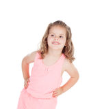 Cute little girl with three year old smiling Stock Photos