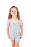 Cute little girl with three year old smiling Stock Photography