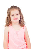 Cute little girl with three year old in tears Royalty Free Stock Images