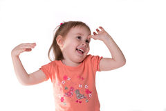 Cute little girl Royalty Free Stock Photo