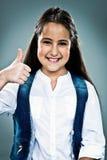 Cute Little Girl Woman Doing an OK Sign Stock Photos