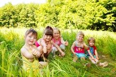 Cute little girls Stock Photo