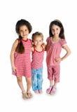 Cute little girls stock image