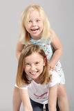 Cute little girls Royalty Free Stock Image
