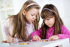 Cute little girls Stock Photo