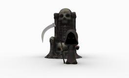 Cute little grim reaper Stock Image