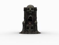 Cute little grim reaper Stock Photos