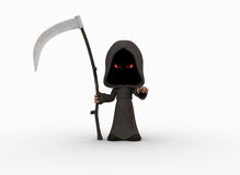Cute little grim reaper Royalty Free Stock Photo